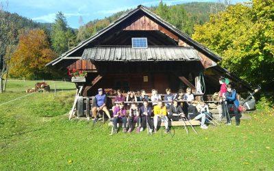 CŠOD Kranjska Gora 1. dan